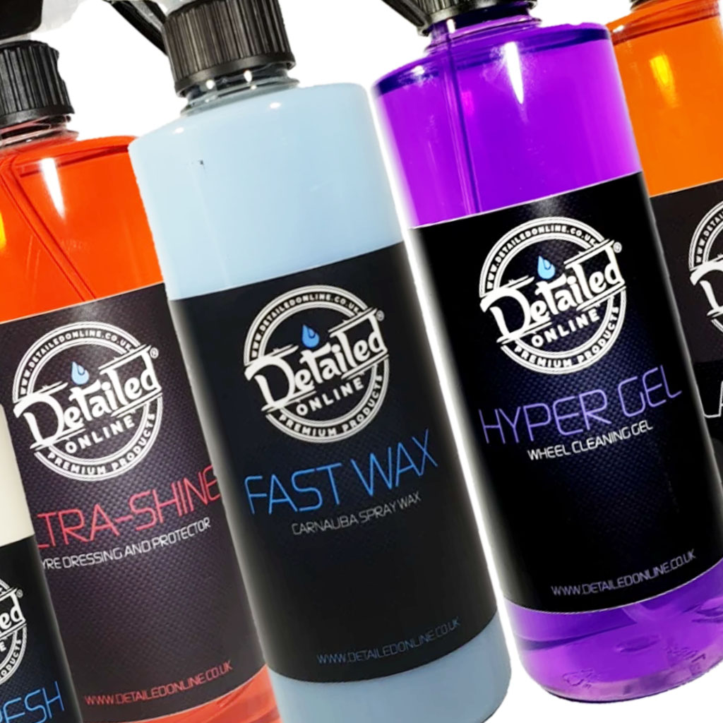 waxed perfection best detailing products