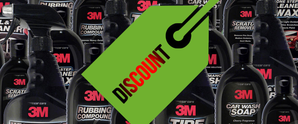 detailing discount codes ca care products