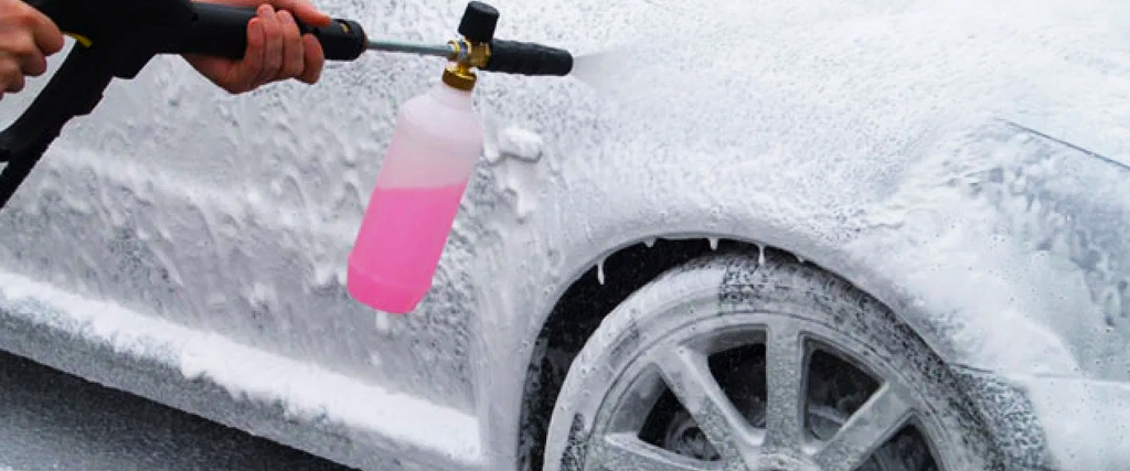 waxed perfection how to snowfoam a car uk