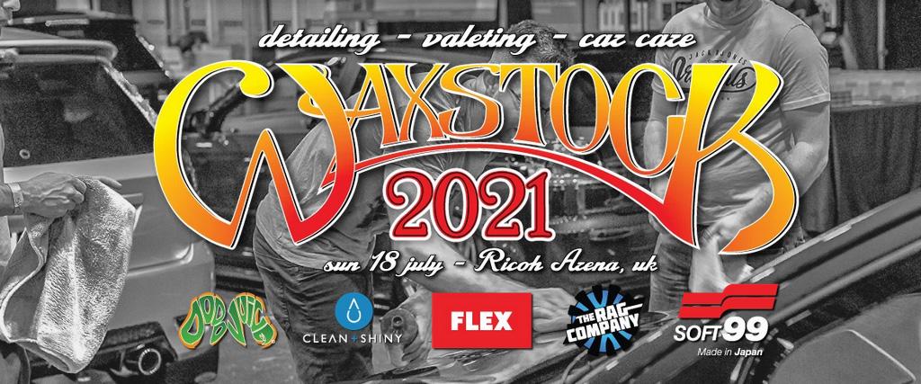 waxstock detailing world show 2020 2021