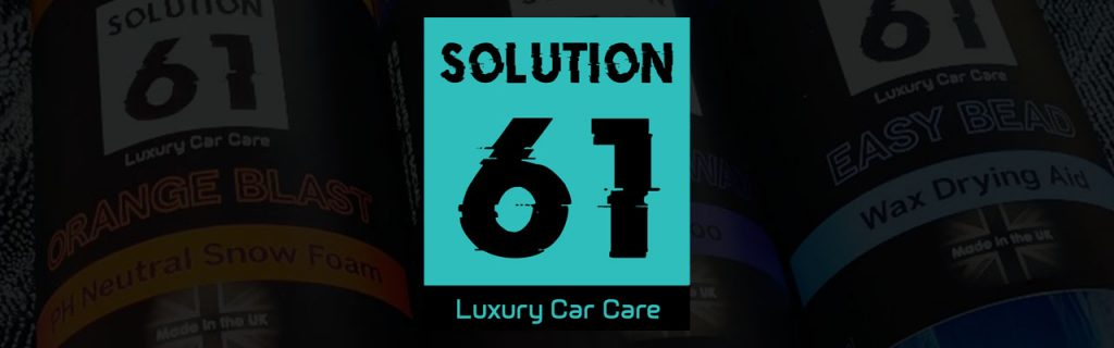 solution 61 car care products