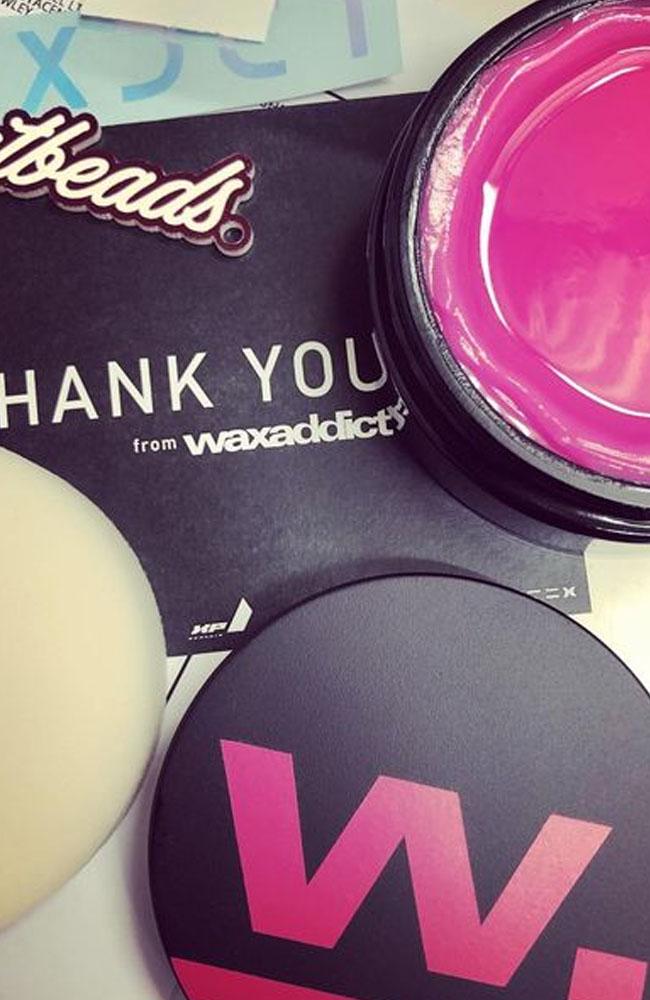 wax addict thank you card