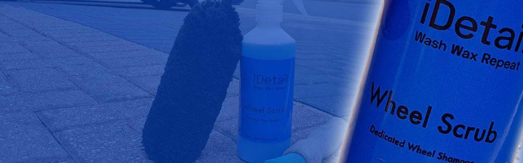 idetailpr wheel scrub shampoo