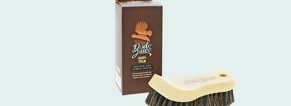 Dodo Juice Hairy Palm Leather and Fabric Brush