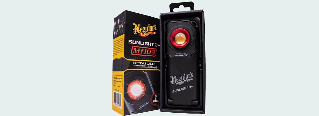Meguiar's Sunlight 3+ MT103 Detailer Inspection Light