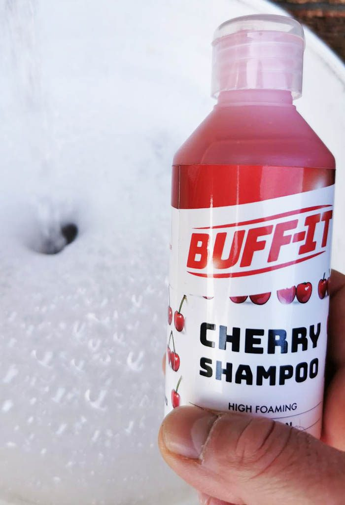 buff it cherry shampoo review