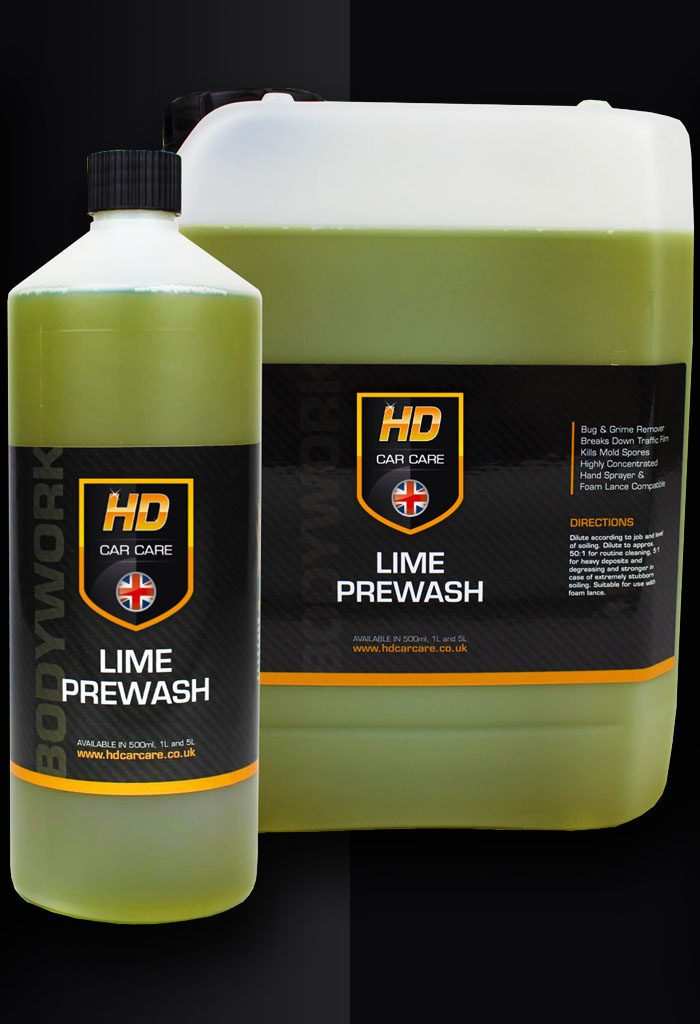 hd car care lime pre wash review