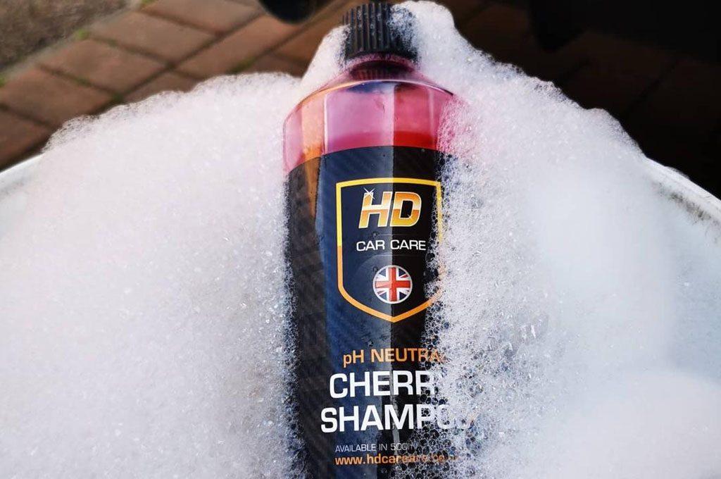 hd car care cherry shampoo review