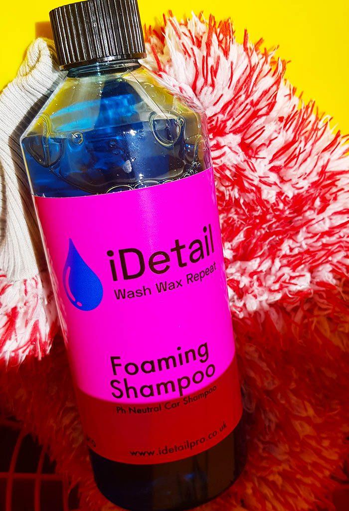 mega foaming car shampoo