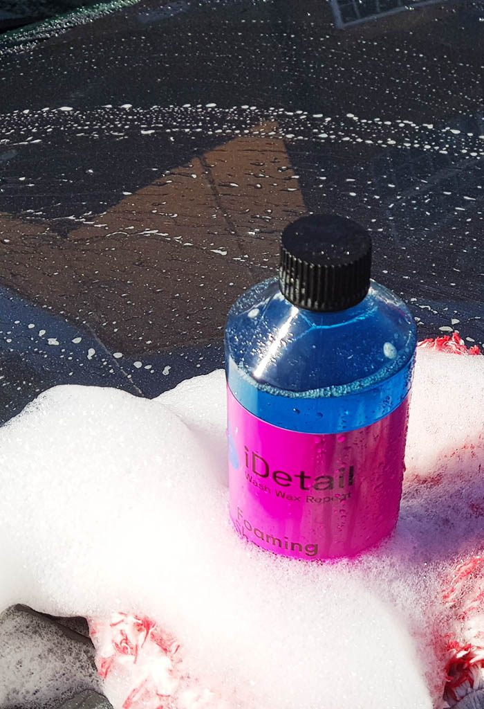 high slickness detailing shampoo