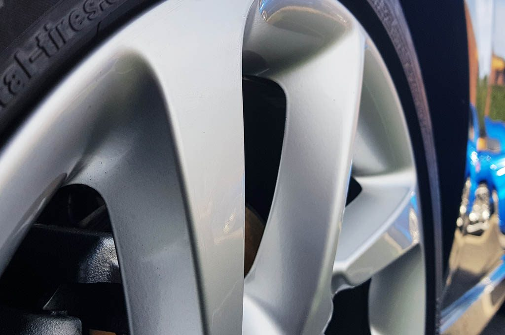 Clean Alloy Wheel Waxed Perfection