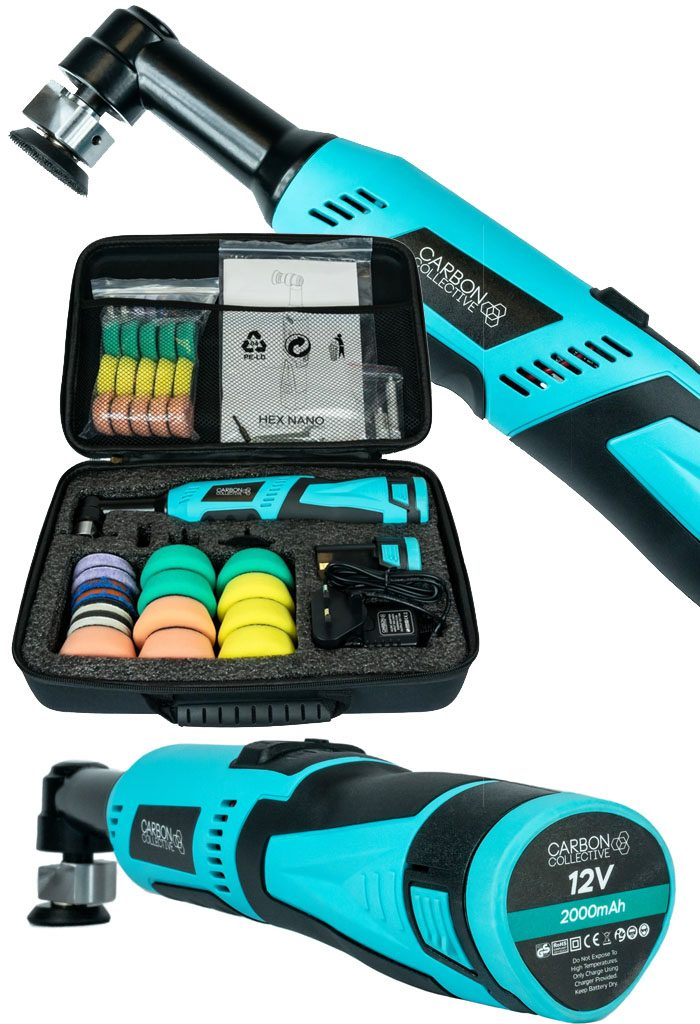 Carbon Collective HEX 12V portable polisher