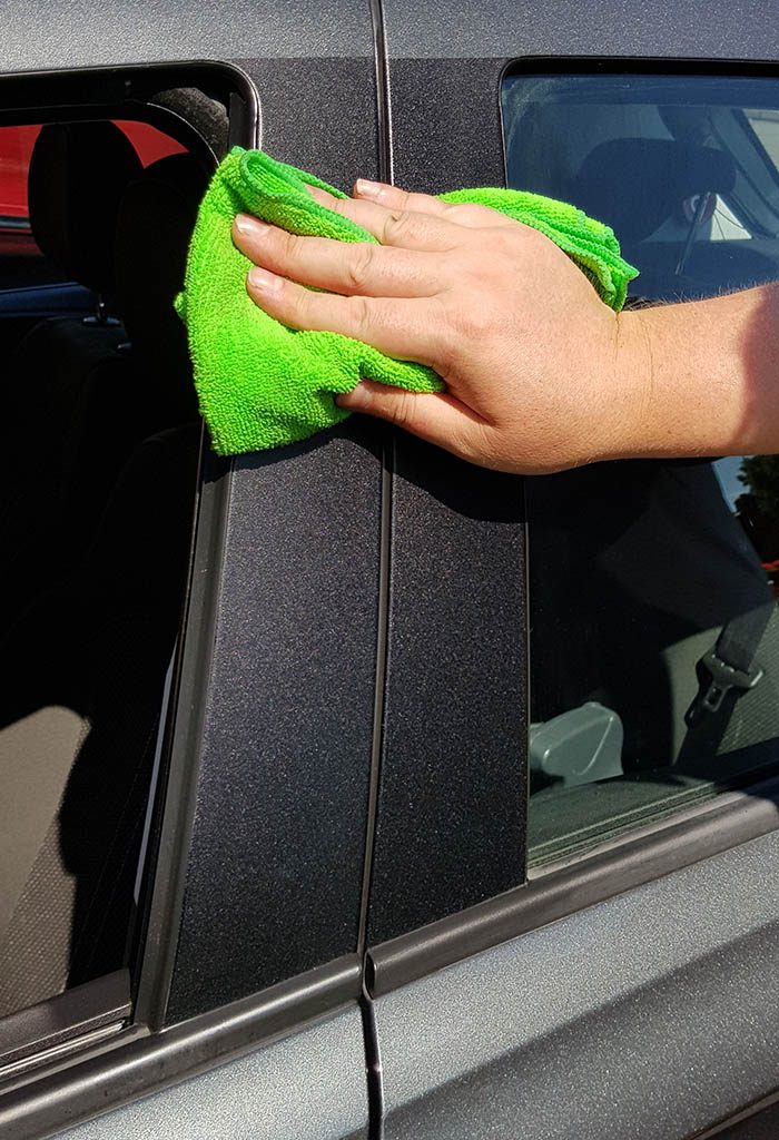 protect exterior plastics and rubber from UV rays and sun bleaching